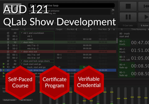 AUD 121  |  QLab Show Development
