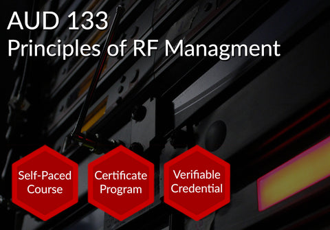 AUD 133  |  Principles of RF Management