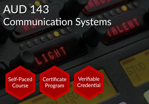 AUD 143  |  Communication Systems