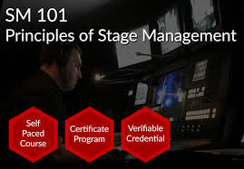 SM 101  |  Principles of Stage Management