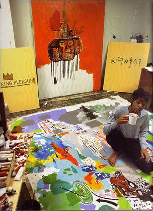 Black Painter - Jean-Michel Basquiat