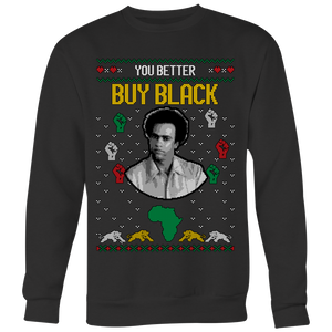 Holiday Sweater  - Huey P. Newton