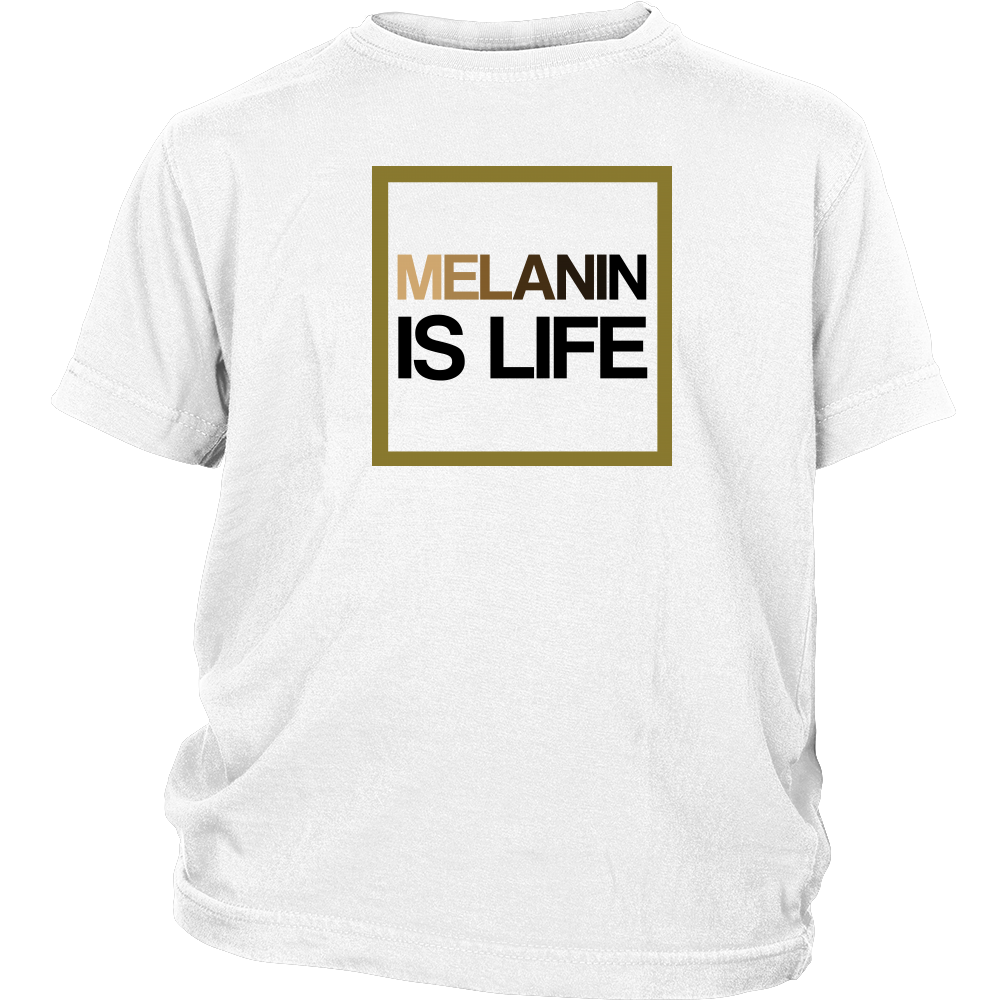 Melanin Is Life Signature Youth T-Shirt