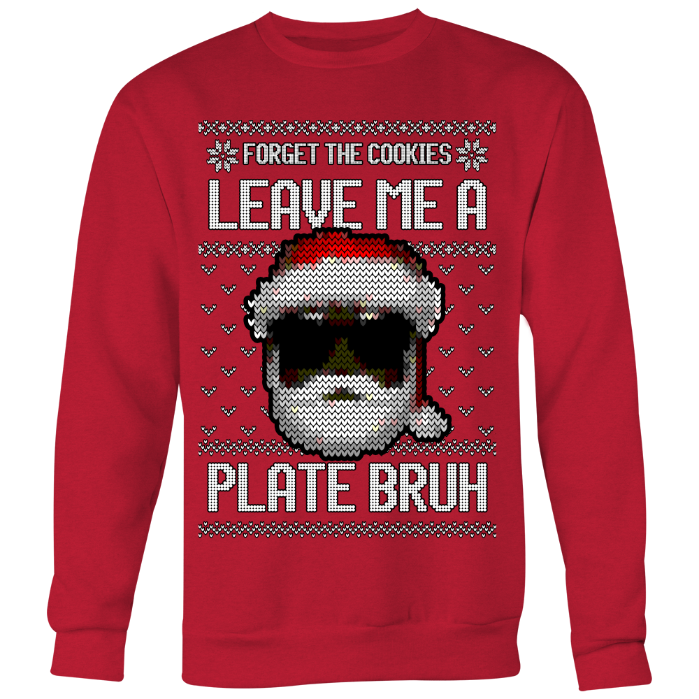 Holiday Sweater - Black Santa