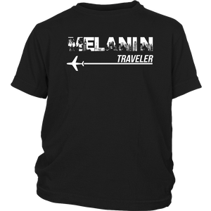 Melanin Traveler Youth T-Shirt