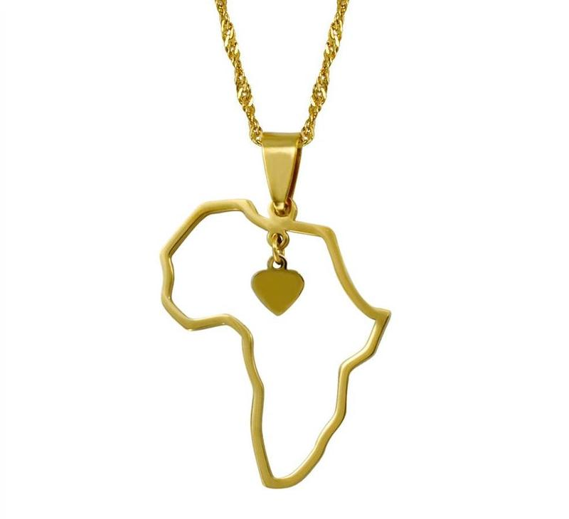 I Heart Africa Necklace