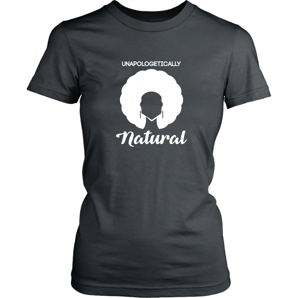 Unapologetically Natural T-Shirt Inverted