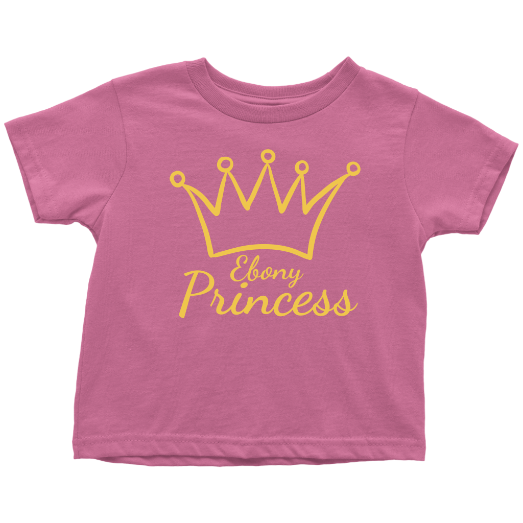 Ebony Princess Toddler T-Shirt