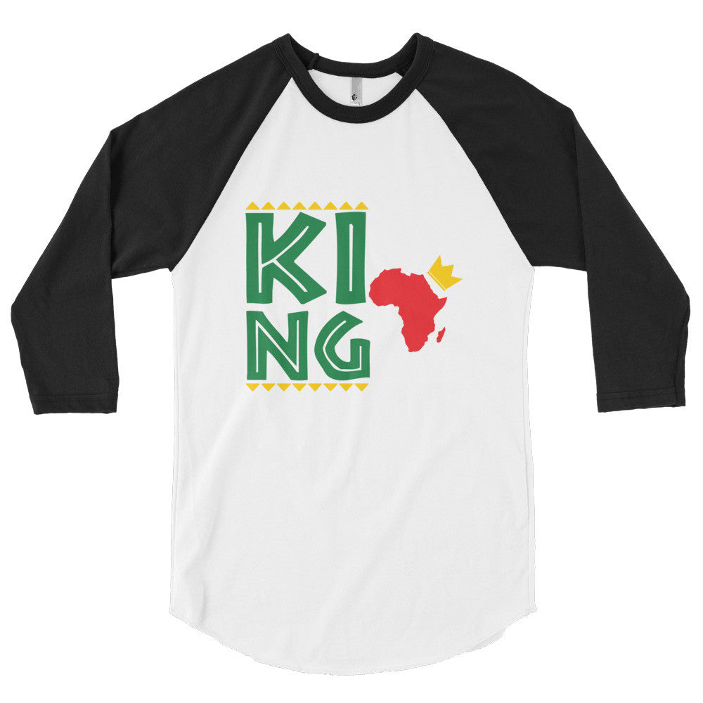 Royal King 3/4 Sleeve Raglan Shirt