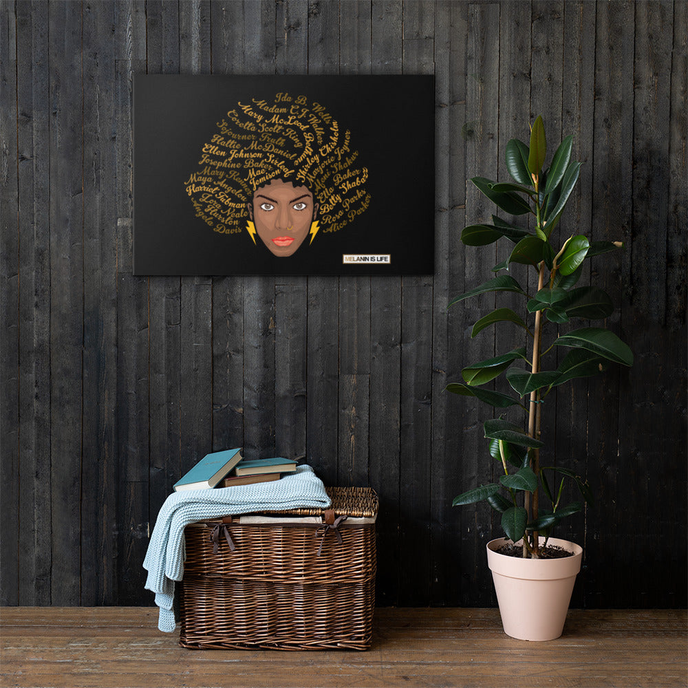 Melanin Goddesses - Canvas Print