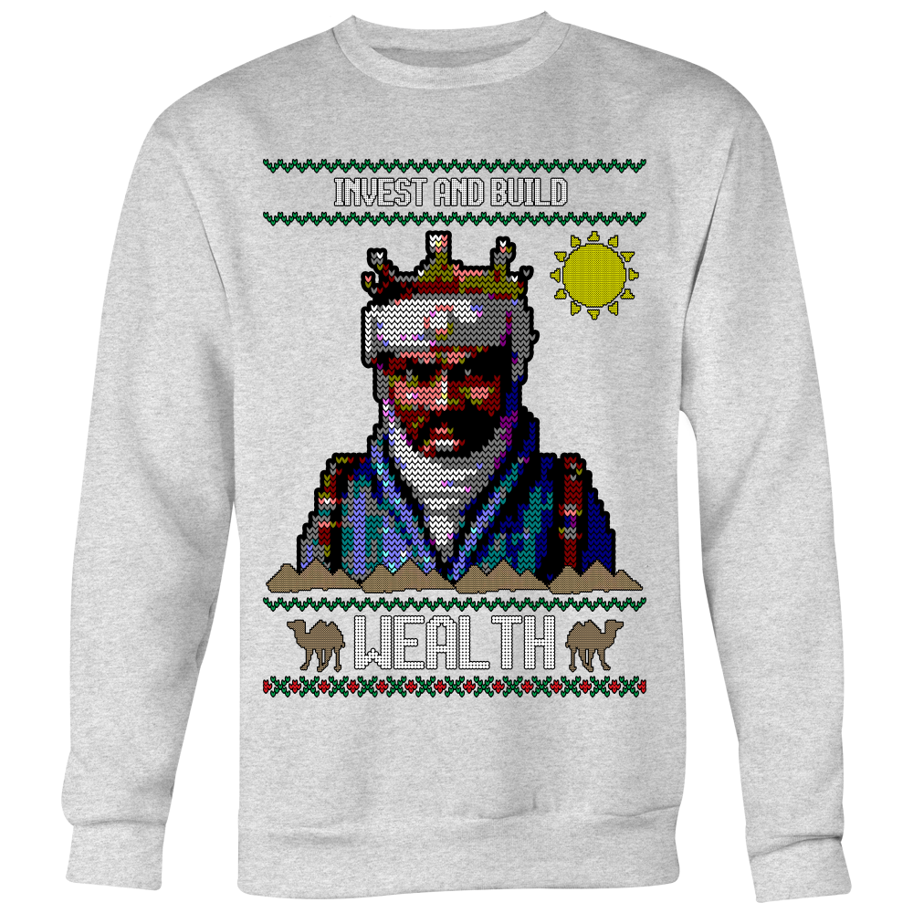 Holiday Sweater - Mansa Musa