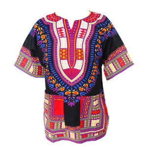 Traditional African Dashiki - Black
