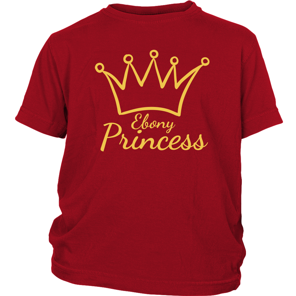 Ebony Princess Youth T-Shirt
