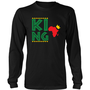 Royal King Long Sleeve T-Shirt