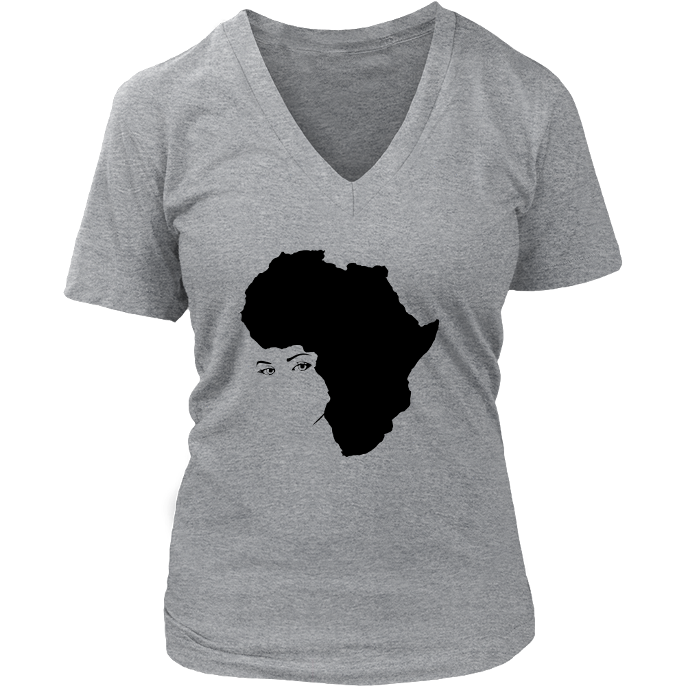 Mother Africa Women's V-Neck
