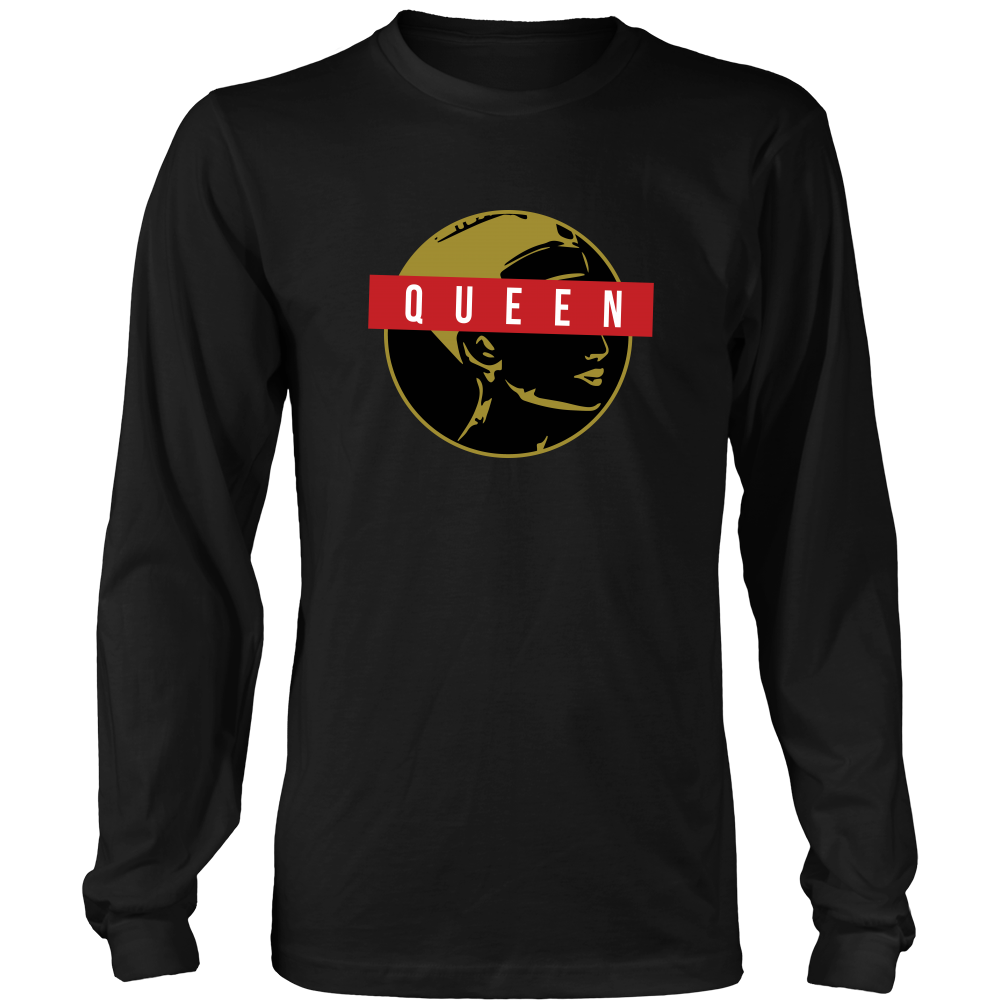 I AM QUEEN Long Sleeve T-Shirt