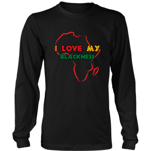 I Love My Blackness Long Sleeve T-Shirt
