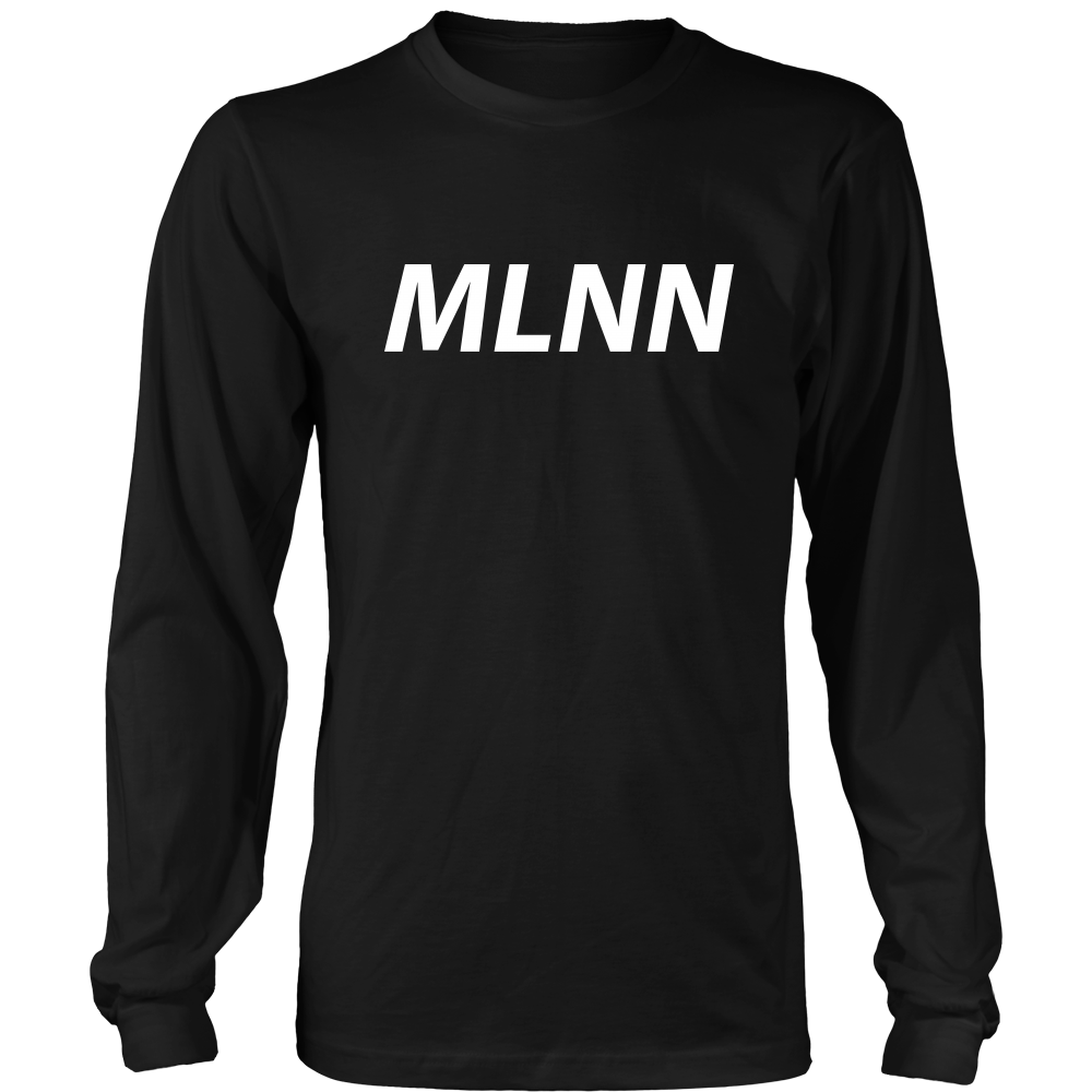 Abbreviated Melanin Long Sleeve T-Shirt