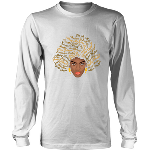 Melanin Goddesses Long Sleeve T-Shirt