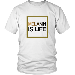 Melanin Is Life Signature T-Shirt