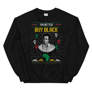 Holiday Sweatshirt  - Huey P. Newton