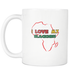 I Love My Blackness Mug