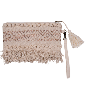Boho embellished clutch *REDUCED TO CLEAR*