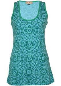 Kiko Singlet - Aqua **SUMMER CLOTHING SALE**