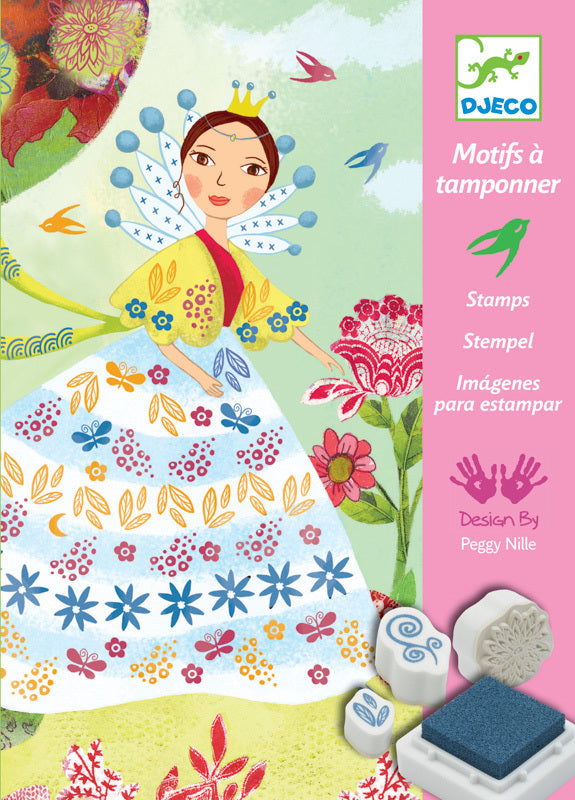 Flower Maidens Stamps