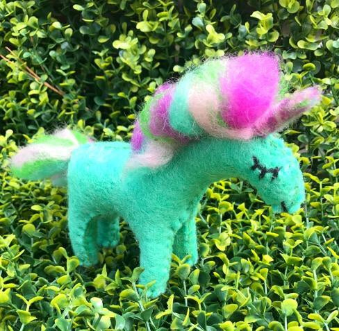 Rainbow Shimmer Unicorn - small
