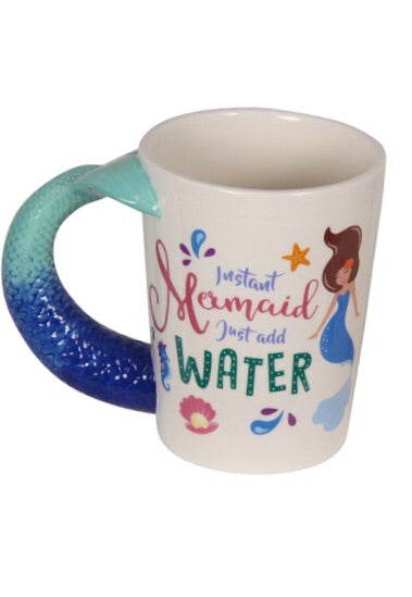 Mermaid mug *REDUCED TO CLEAR*