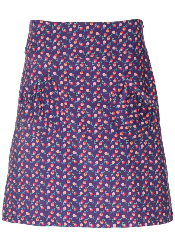Miss Molly Cord Pocket Skirt