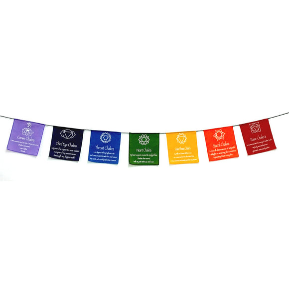 Prayer Flags - Chakra
