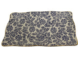 Rectangle Plate - Blue Fern