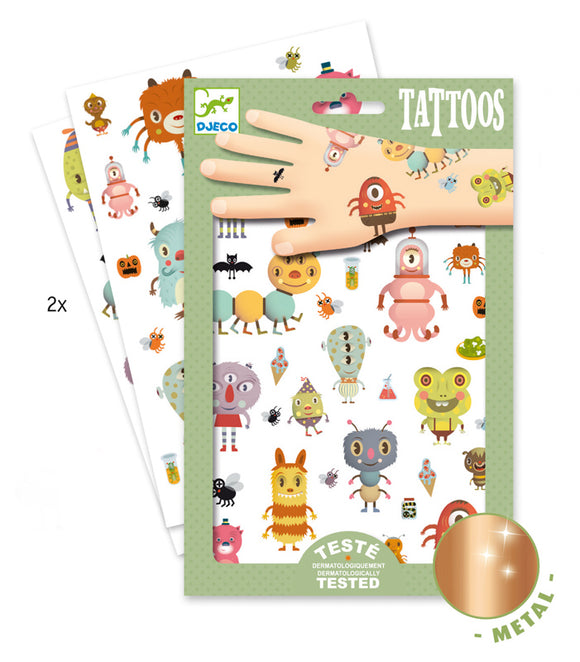 Temporary Tattoos - Monsters