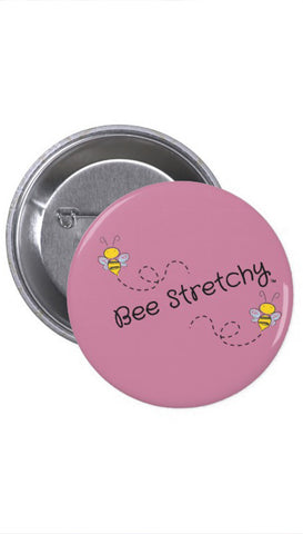 Bee Stretchy buttons
