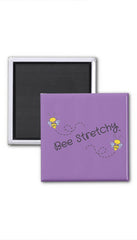 BeeStretchy logo magnet - Bee Stretchy