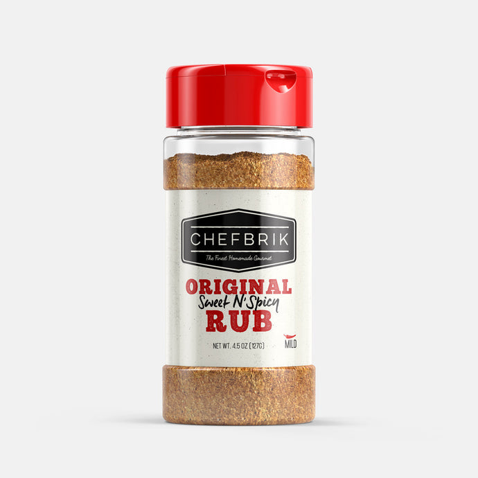 Chef Brik Original Sweet N Spicy Rub