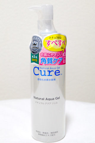 Cure Natural Aqua Gel Ingredients