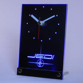 Jedi Star Wars Table Desk 3D LED Clock - Gift-Frog