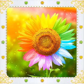 Diamond Painting Flower - Gift-Frog