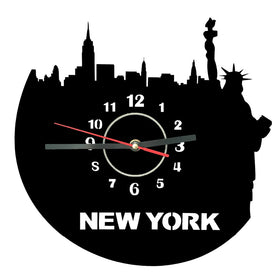 Acrylic Clock New York - Gift-Frog