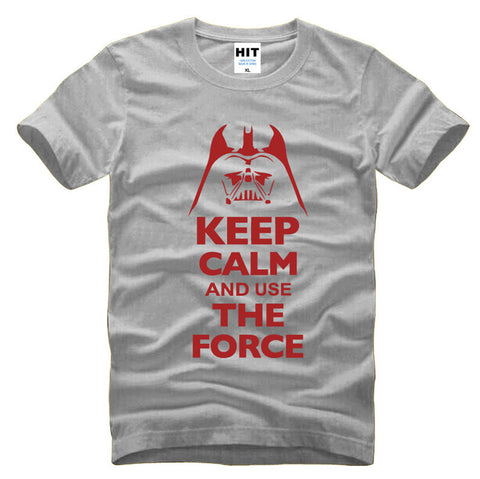 Star Wars Darth Vader t shirt Keep Calm and Use THE FORCE - Gift-Frog