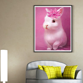Cute Rabbit Diamond Painting - Gift-Frog