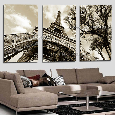 Diamond Painting Paris City Eiffel Tower 3 Pcs - Gift-Frog