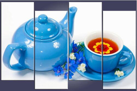Diamond painting hot cup and kettle 4 pcs - Gift-Frog