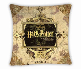 Harry Potter Decorative Throw Covers Pillowcases Gift Square Printed Decor 45x45 - Gift-Frog