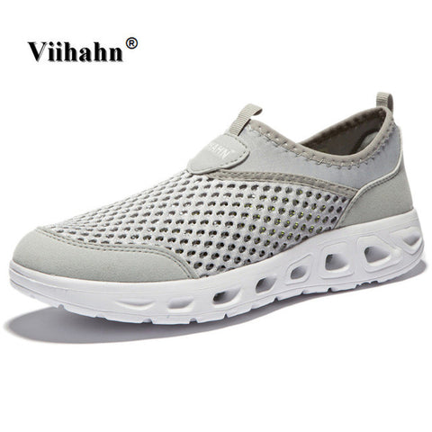 Viihahn 2017 Men Casual Shoes Summer Breathable Mesh