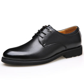 Classic Men's Dress Shoes Soft Pointed Toe