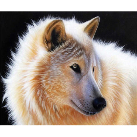 Diamond painting animal wolf - Gift-Frog
